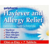 Health & Wellbeing|Treatment & Prevention  - Galpharm Hayfever and Allergy Relief Tablets 7s