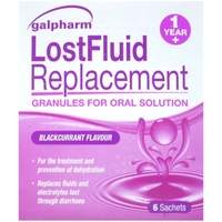 Anti Diarrhoea|Other Digestion & Indigestion Products|Lip Make Up  - Galpharm Lost Fluid Replacement Sachets 6s