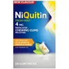 NiQuitin Fresh Mint 4mg Medicated Chewing Gum 24s