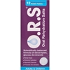 O.R.S Oral Rehydration Salts Blackcurrant Flavour Soluble Tablets 12s