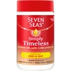 Seven Seas Simply Timeless Marine Oil with Cod Liver Oil Capsules 60s