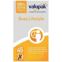 Valupak Busy Lifestyle Tablets 30s