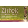 Zirtek Allergy Relief Tablets 7s