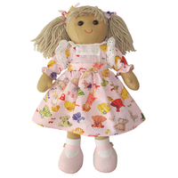 Accessories  - Anna Print Rag Doll