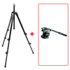 Manfrotto 055XDB Basic Tripod Kit (with 128RC Micro Fluid Video Head)