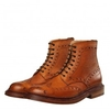 Triple Welt Fred Boot - Tan