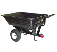 Garden Tools & Devices  - AGRI-FAB 136kg Towed/Push Cart