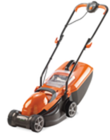 Electric Mowers  - Flymo Chevron 32V Electric Wheeled Lawn mower