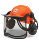 Husqvarna Functional Orange Safety Helmet & Visor