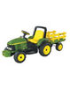 John Deere 12v Battery Powered Tractor and Trailer