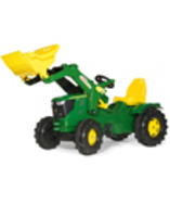 Leisure Time  - John Deere 6210R Toy Pedal Tractor with Frontloader