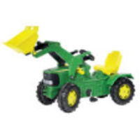 Leisure Time  - John Deere 6920 Pedal Tractor/Loader with PneumaticTyres