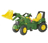 Leisure Time  - John Deere 7930 Toy Tractor & Front Loader with Pneumatic Tyres