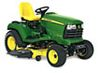 Agricultural Products John Deere X748 24hp (54 inch Deck) 4WD Diesel Ride On Mower