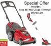 Mountfield Princess 38LI (48V) Cordless Lawn mower
