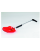 Polycarbonate Snow Shovel with Telescopic Handle