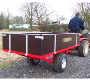SCH 2 Wheel Timber Tipping Trailer GWTS15