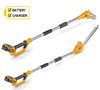 Stiga SMT24AE 24v Cordless Long Reach Hedge trimmer & Pole Pruner