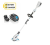 Swift EB310D2 Cordless Grass Trimmer with Battery and Charger