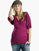 Crossover Maternity Top