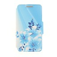 Shells  - Kinston Star Flowers Diamond Paste Pattern PU Leather Full Body Case with Stand for Nokia Lumia 930