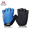 Bicycle MYSENLAN Unisex Anti-skid Short Finger Cycling Gloves