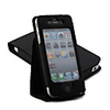 2-in-1 Leather Case Folding Stand for iPhone 4