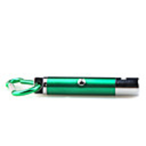 Laser Pointers|Torches  - 5 in 1 1mw 650nm Projective Red Laser Pointer with 2 LED and Keychain Green