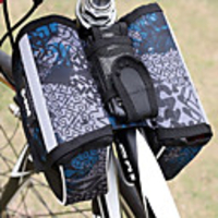 Pets & Domestic Animals  - B-SOUL 1.5 L Bike Handlebar Bag Portable Wearable Outdoor Bike Bag Polyester PVC(PolyVinyl Chloride) Bicycle Bag Cycle Bag Cycling Outdoor Exercise Bike / Bicycle