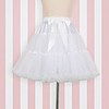 Ballet Dancer Classic Lolita 1950s Vacation Dress Dress Petticoat Hoop Skirt Tutu Crinoline Women