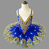 Ballet Dancer LED Layered Vacation Dress Tutu Bubble Skirt Under Skirt Girls