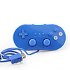 Classic Game Controller for Wii (Blue)