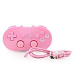 Games|Nintendo Wii  - Classic Game Controller for Wii (Pink)