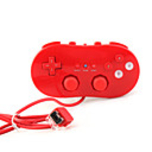 Games|Nintendo Wii  - Classic Game Controller for Wii (Red)