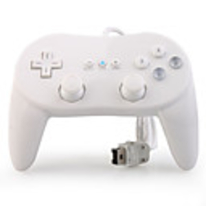 Games|Nintendo Wii  - Classic Wired Control Pad for Wii (White)