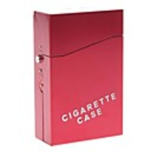 Tobacco Products  - E-cigarette Set with Aluminium Case and 10-pack Refills