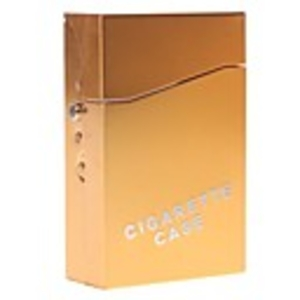 Tobacco Products  - E-cigarette Set with Aluminium Case and 3-pack Refills