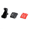 j hook buckle with mount surface and 3m sticker for gopro hero 4 3 3 2 1 sj4000 sj5000 sj6000