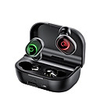TWS 5.0 Bluetooth Earphones Wireless Headphone Stereo Bass Headset In-ear Earbuds LED Phone Holder 1800mAh Power Bank