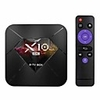 X10 PLUS Android 9.0 TV Box R-TV 4GB/32G Allwinner H6 4K Smart Set-Top Box 6K Image Decoding 2.4G WiFi H.265 Media Player