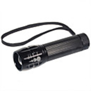 Torches  - X2000 Flood-to-Throw Zooming Glass Optics Cree P4-WC LED Flashlight (1 18650)