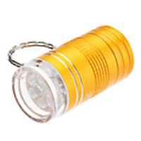 Torches  - X203 1-Mode 6-LED Keychain Flashlight (2xCR2032, Assorted Colors)