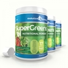 Health & Beauty SuperGreens Powder with 17 Super Fruits & Vegetables 3 x 500g Tubs with Scoop