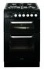 Baumatic BCG520BL 50 cm Slot-in Twin Cavity Gas Cooker Black