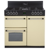 Belling Classic 90DFT Range Cooker Dual Fuel Double Cream