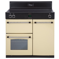 Belling Classic 90Ei Range Cooker Electric Double 90cm Cream