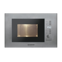 Hoover HMB20GDFX Microwave Combination Grill 20 Litres Stainless Steel