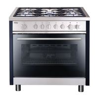 Ovens & Cookers  - Matrix MR111SS Range Cooker Dual Fuel Single Cavity Stainless Steel