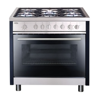 Ovens & Cookers  - Matrix MR311SS Range Cooker Gas Single Cavity 90cm Stainless Steel