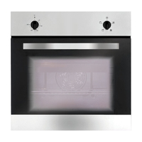 Ovens  - Matrix MS001SS Built In Oven Electric Fanned 56 Litres Stainless Steel